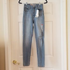 Levi's Mile High Skinny Jeans - Size 26X30 NWT